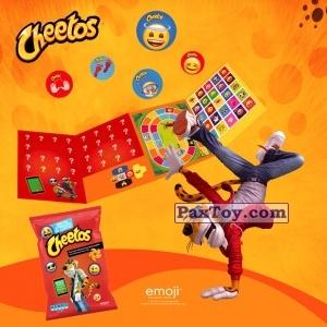 PaxToy Cheetos   2017 Emoji (Греция)   01 Альбом