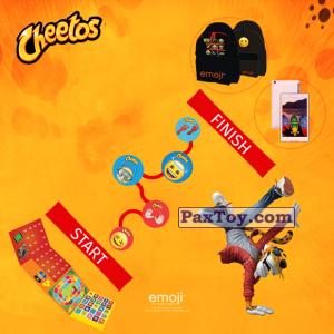 PaxToy Cheetos   2017 Emoji (Греция)   09