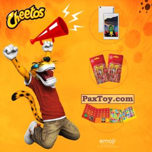 PaxToy Cheetos   2017 Emoji (Греция)   10
