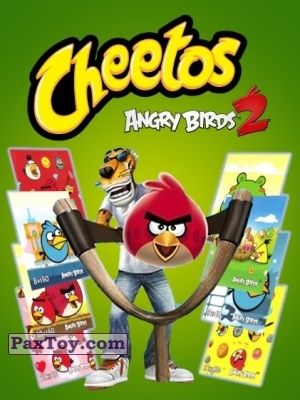 PaxToy Cheetos   Stickers Angry Birds 2 logo tax 3