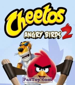PaxToy.com - 7 из 60 King Pig and Pigs из Cheetos: Stickers Angry Birds 2