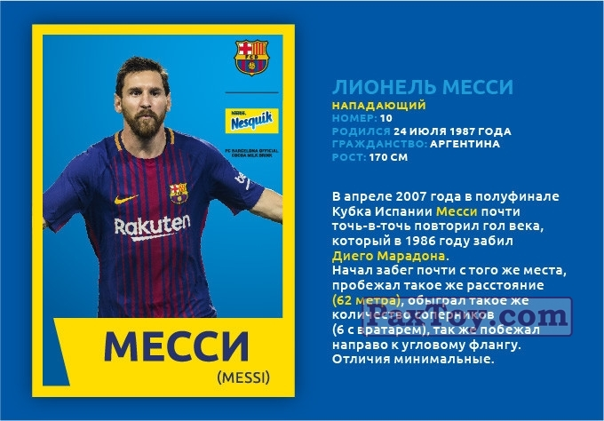 PaxToy МЕССИ (MESSI)