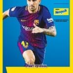 PaxToy ПАКО АЛЬКАСЕР (PACO ALCACER)   2018 Nesquik и Магнит «Карточки с игроками ФК «Барселона»