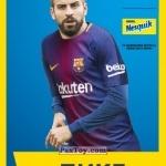 PaxToy ПИКЕ (PIQUE)   2018 Nesquik и Магнит «Карточки с игроками ФК «Барселона»