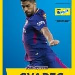PaxToy САУРЕС (SAURES)   2018 Nesquik и Магнит «Карточки с игроками ФК «Барселона»