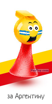 PaxToy.com - 01 за Аргентину из Окей: Футбольные Свистолёты
