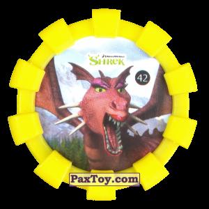PaxToy.com - 42 Дракон (Резиновый бампер) из Cheetos: Shrek (Blaster)