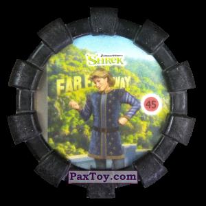 PaxToy.com - 45 Прекрасный принц (Резиновый бампер) из Cheetos: Shrek (Blaster)