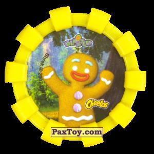 PaxToy.com - 46 Пряничный человечек (Резиновый бампер) (Сторна-back) из Cheetos: Shrek (Blaster)