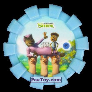 PaxToy.com - 49 Три Поросенка несут волка и Пряничного человечка из Cheetos: Shrek (Blaster)