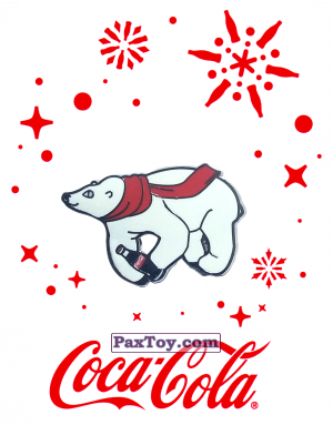 PaxToy.com - 11 Белый медведь - 2016 Coca-Cola! из Coca-Cola: Получай и дари подарки с Coca-Cola!