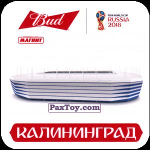 PaxToy.com - 12 Стадион - Калининград из Магнит и Bud: Магниты 12 Стадионов