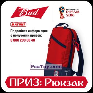 PaxToy.com - 14 Приз - Рюкзак из Магнит и Bud: Магниты 12 Стадионов