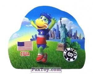 PaxToy.com - 14 США из Растишка: Футбольные Прилипалки 2018