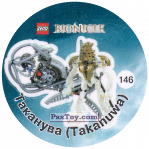 PaxToy.com - 146 Таканува (Takanuwa) из Cheetos: Bionicle 2003