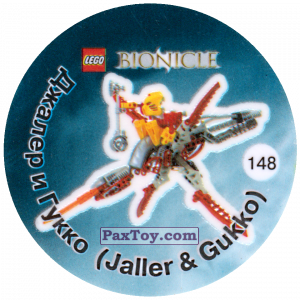 PaxToy.com - 148 Джалер и Гукко (Jaller & Gukko) из Cheetos: Bionicle 2003