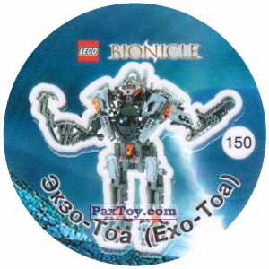 PaxToy.com - 150 Экзо-Тоа (Exo-Toa) из Cheetos: Bionicle 2003