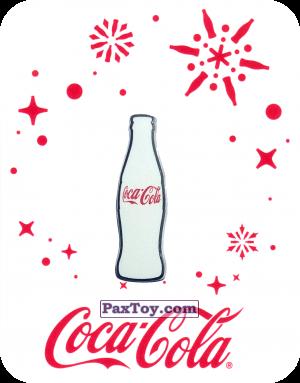 PaxToy.com - 17 Белая бутылочка Coca-Cola - 2016 Coca-Cola! из Coca-Cola: Получай и дари подарки с Coca-Cola!