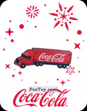 PaxToy.com - 19 грузовик Coca-Cola - 2016 Coca-Cola! из Coca-Cola: Получай и дари подарки с Coca-Cola!