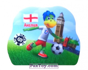 PaxToy.com - 2 АНГЛИЯ из Растишка: Футбольные Прилипалки 2018