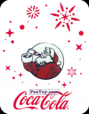 PaxToy.com - 20 Санта пьёт Coca-Cola - 2016 Coca-Cola! из Coca-Cola: Получай и дари подарки с Coca-Cola!