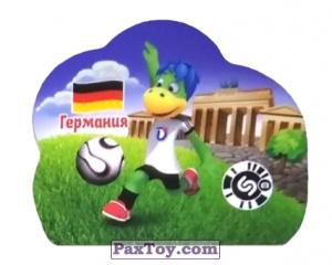 PaxToy.com - 4 ГЕРМАНИЯ из Растишка: Футбольные Прилипалки 2018