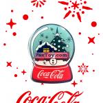 PaxToy 5 Снежный шар   2016 Получай и дари подарки с Coca Cola!