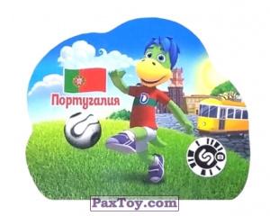 PaxToy.com - 8 Португалия из Растишка: Футбольные Прилипалки 2018