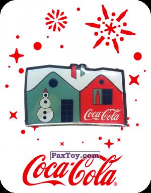 PaxToy.com - 9 Дом с Coca-Cola - 2016 Coca-Cola! из Coca-Cola: Получай и дари подарки с Coca-Cola!