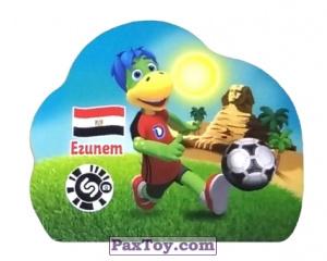PaxToy.com - 9 ЕГИПЕТ из Растишка: Футбольные Прилипалки 2018