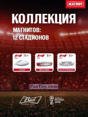 PaxToy Bud и Магнит: Магниты 12 Стадионов