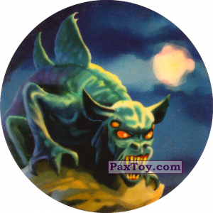 PaxToy.com  Фишка / POG / CAP / Tazo Чорна мітка - Гаргулія из Flint: Чорні мітки / Черные метки