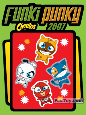 PaxToy Cheetos: Funki punky 2007