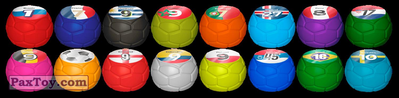 PaxToy Пятерочка 2018 Большой футбол в Пятёрочке набор Мячей