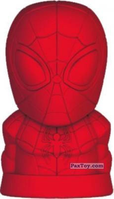 PaxToy.com - 01 Человек-паук из Пятёрочка: Ластики Стиратели Marvel