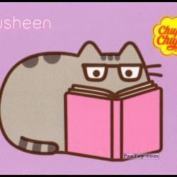 PaxToy 01 Pusheen читает книгу