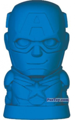 PaxToy.com - 02 Капитан Америка из Пятёрочка: Ластики Стиратели Marvel