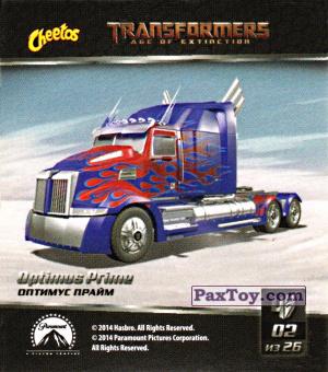 PaxToy.com - 02 Optimus Prime - Оптимус Прайм из Cheetos: Transformers - Age of Extinction.