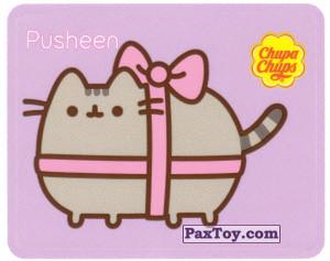 PaxToy.com - 02 Подарочный Pusheen из Chupa Chups: Pusheen