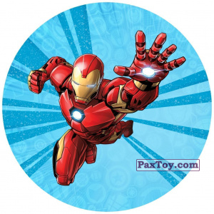 PaxToy.com - 04 Железный Человек (Сторна-back) из