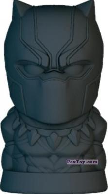 PaxToy.com - 05 Черная Пантера из Пятёрочка: Ластики Стиратели Marvel