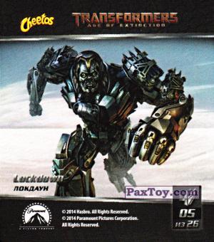 PaxToy.com - 05 Lockdown - Локдаун из Cheetos: Transformers - Age of Extinction.
