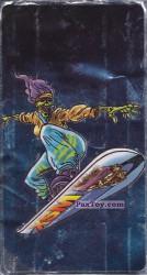 PaxToy.com - 05 Скелет на сноуборде из Boomer: Мега наклейка (Скелеты)