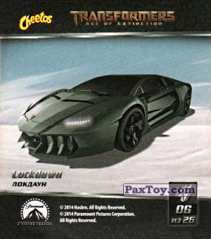 PaxToy.com - 06 Lockdown - Локдаун из Cheetos: Transformers - Age of Extinction.