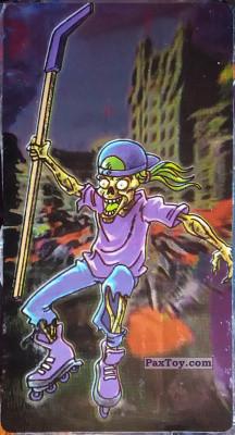 PaxToy.com - 07 Скелет роллеркеист из Boomer: Мега наклейка (Скелеты)