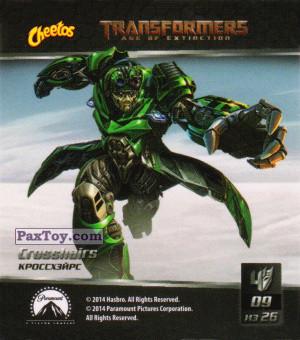 PaxToy.com - 09 Кроссхэйрс из Cheetos: Transformers - Age of Extinction.