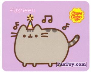 PaxToy.com - 09 Pusheen слушает праздничную музыку из Chupa Chups: Pusheen
