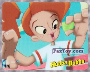PaxToy.com - 1/6 Девочка держит Hubba Bubba Lively Lime из Hubba Bubba: Веселые Пузыри на Вечеринке (Ukraine)