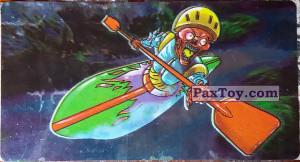 PaxToy.com - 10 Скелет рафтер из Boomer: Мега наклейка (Скелеты)
