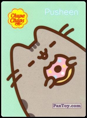PaxToy.com - 11 Pusheen доволен пончиком из Chupa Chups: Pusheen